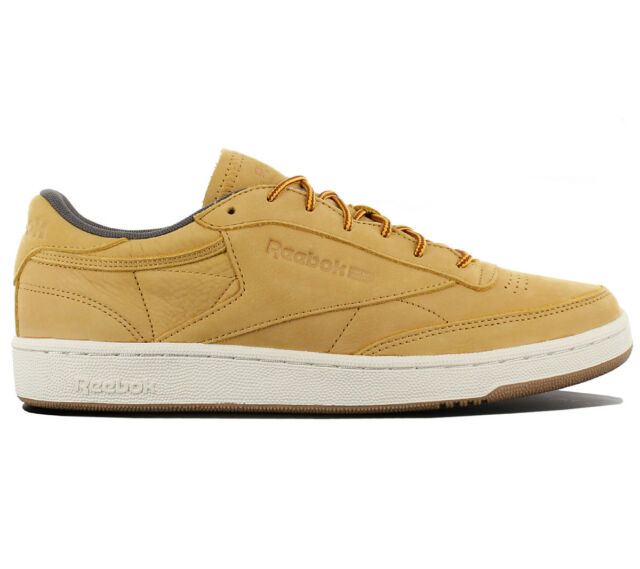 buy online 2bd90 92c96 Reebok Club C 85 Leather Wp Trainers Leather Shoes Classic Trainers Bs5205  New