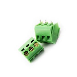 10pcs Kf103-3p 5.0mm Spacie Terminal Terminal Blocks Sockets Connectors L9
