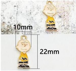 20pcs Cartoon dog Enamel Metal Charms Pendants DIY Jewelry Making