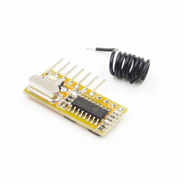 RXC6 433Mhz PT2262 Code Steady for Arduino/AVR Superheterodyne Wireless Receiver
