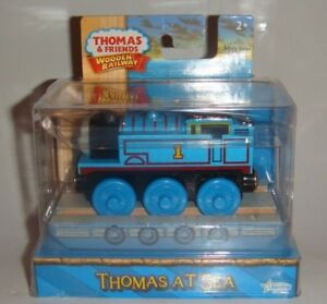 Thomas At Sea Misty Island Rescue Friends Wooden Railway New Blue ...