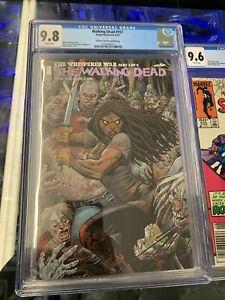 The-Walking-Dead-Comics-CGC-9-8-Graded-157-The-Whisperer-War