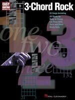 3-chord Rock Sheet Music Easy Guitar 000702156
