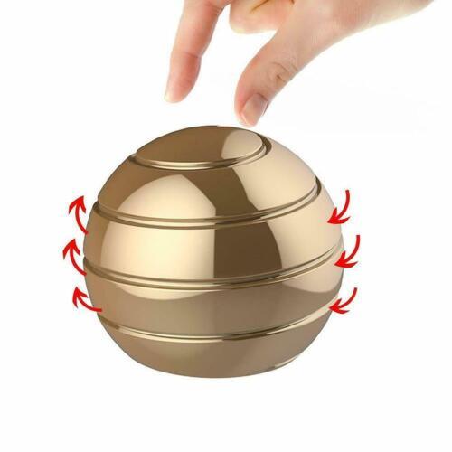 For Adult Desktop Decompression Rotating Spherical Gyroscope Kinetic Desk Toys