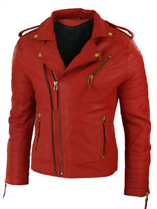 Men/'s Brown Suede Leather Jacket Slim fit Biker Motorcycle Jacket Lizaz Leather