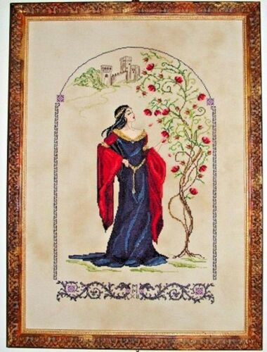 """SALE COMPLETE X STITCH KIT /""""MEDIEVAL ENCHANTMENT RL41/"""" by Passione Ricamo"""
