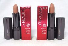 Lot/2 Shiseido Perfect Rouge Lipstick ~ BE 310 ~ .14 oz. Each ~ BNIB