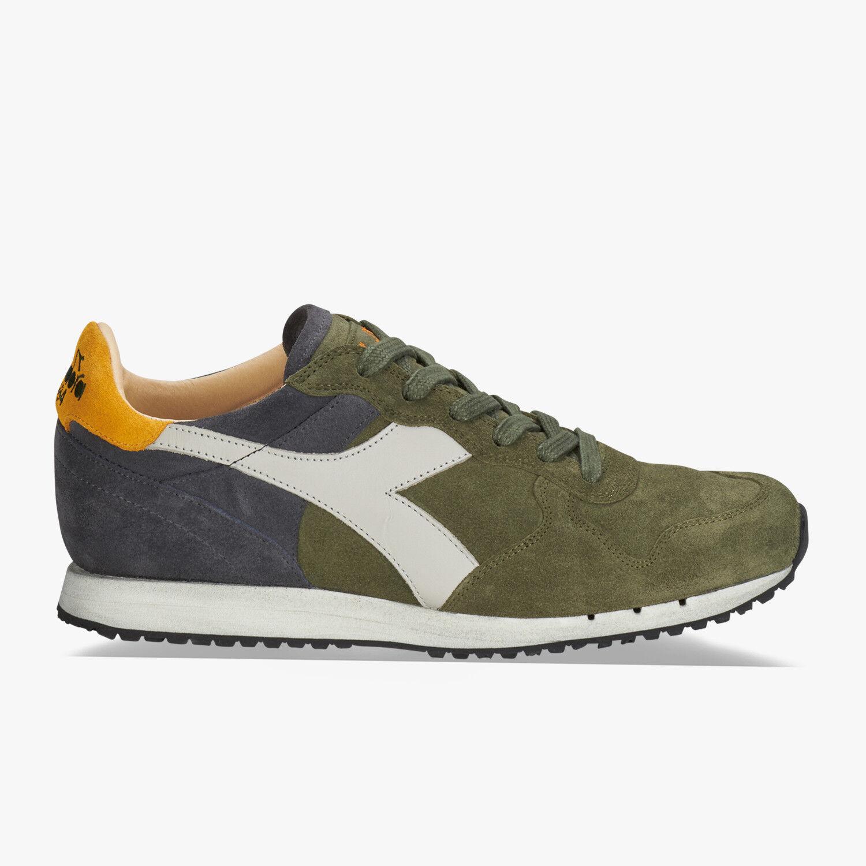 Zapatillas zapatos DIADORA HERITAGE Uva Trident Medio S SW Uva HERITAGE Leaf/ Dark Sha 052448