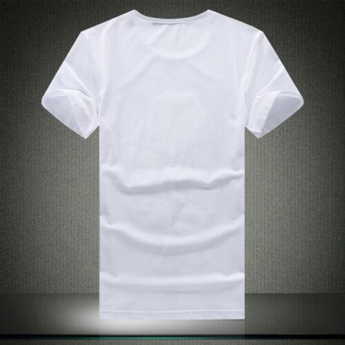 Summer Men T-Shirts Short Sleeve T Shirt Pinted Floral V-Neck T-Shirts Tops S067