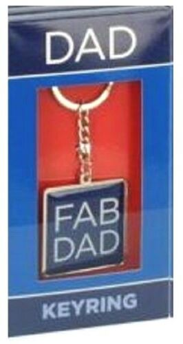 Dad Keyring Fathers Day Birthday Christmas Gift Fab Top In A Million Key Ring