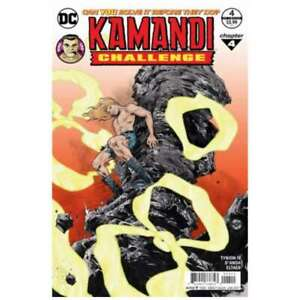 Kamandi Challenge #4 in Near Mint + condition. DC comics [*9u]