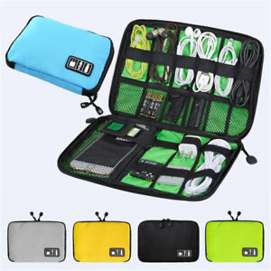New-Cable-Cord-Organizer-Electronics-Accessories-Travel-Bag-USB-Hard-Drive-Case