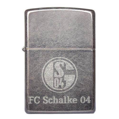 Zippo Feuerzeug Feuerzeug Zippo FC Schalke 04, offizielle Lizenzartikel, ver. Farben 63cdb4