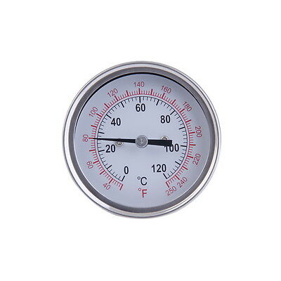 NEW Stainless Steel BBQ Thermometer for a Moonshine Still Condenser Brew Pot LO