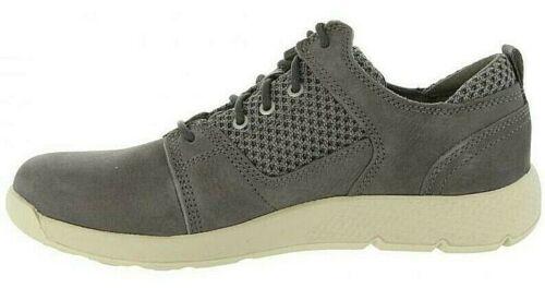 punto Unido para de cuero deporte niños Zapatillas Boys Zapatos Reino Flyroam de gris Flyroam Junior de en wft7Hq