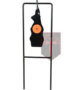 Objectif Shooting Gallery Swinging Reset fusil de chasse pistolet à air auto Spinning Set