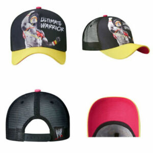 WWE-Ultimate-Warrior-Baseball-Cap-Authentic-New-with-tags-Rare
