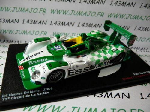 24H58M 1//43 IXO Altaya Passion vitesse GT PORSCHE RS SPYDER 24 Heures Mans 2009
