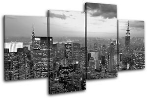 Delightful Image Is Loading New York NYC Skyline City MULTI CANVAS WALL