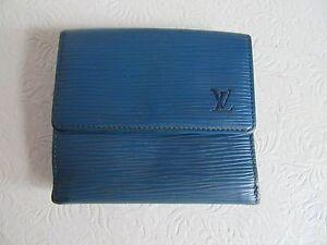 Louis-Vuitton-Blue-Epi-Leather-wallet-SP0955-Authenticity-Verified