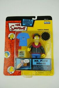 The-Simpsons-World-of-Springfield-Mr-Plow-Homer-Playmates-Action-Figures-NIB
