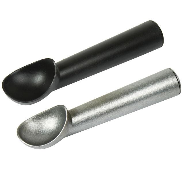 1pcs Aluminum Ice Cream Scoop Non-Stick Anti-Freeze Spoon Dipper New
