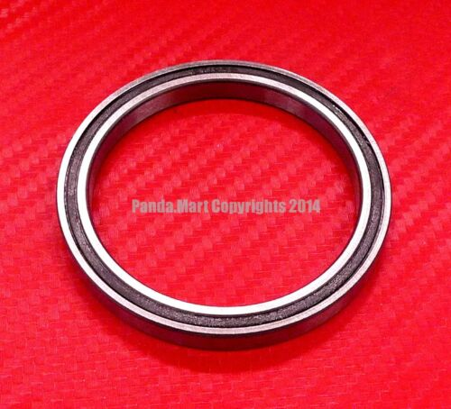 Black Rubber Sealed Ball Bearing Bearings 6805RS 5pcs 6805-2RS 25x37x7 mm