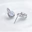 925-Sterling-Silver-6mm-CZ-Square-Halo-Drop-Stud-Earrings-Women-Jewellery-Boxed