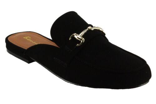 Bonnibel Women/'s Miu-1 Low Heel Mule Sandals
