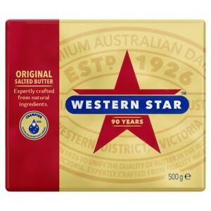Western Star Original Salted Butter Pat 500g