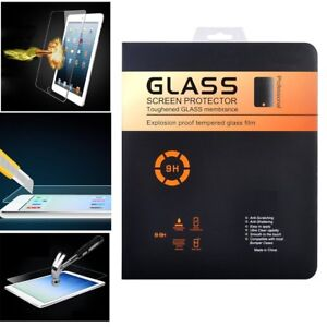 Lot 5 5x  Premium Real Tempered Glass Screen Protector for Apple iPad 2 3 4