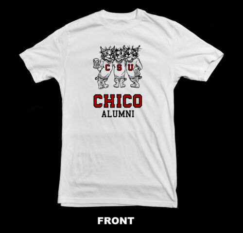 Chico State Alumni Vintage T-Shirt1980/'s Wildcats Drinking T Shirt