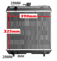Radiator Kubota D16e D16f Tractor Ride On Mower 2000 325mm X 390mm Made In Japan