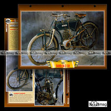 #116.12 Fiche Moto SAROLEA 375 3 HP 1904 Classic Bike Motorcycle Card