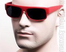 Cholo Gangster Super Dark Lenses OG LOC Lowrider Sunglasses Matte Red 7SD