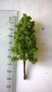 Lot-B-10-arbres-vert-moyen-decors-9-cm-N-HO