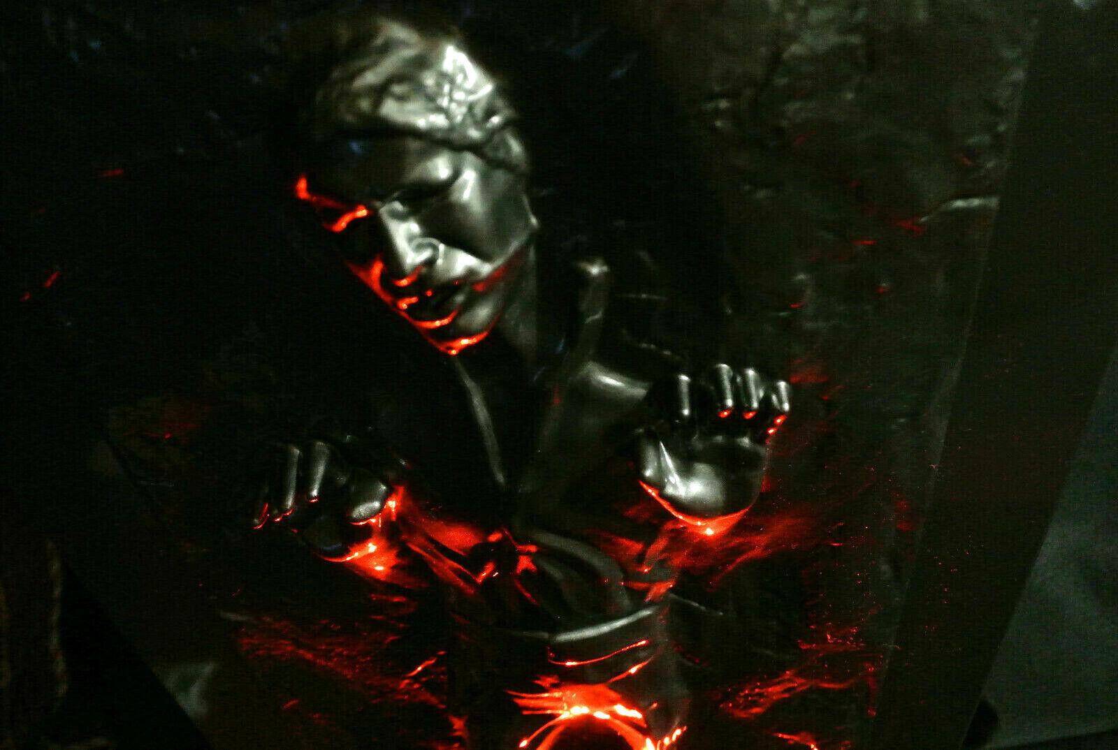 "18"" 1/4 Star Wars Light Up Han Solo Carbonite fr Hot toys Vader Premium Sideshow on eBay thumbnail"