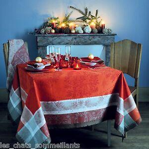 Garnier Thiebaut Mon Beau Sapin French Jacquard Christmas Tablecloths New Ebay
