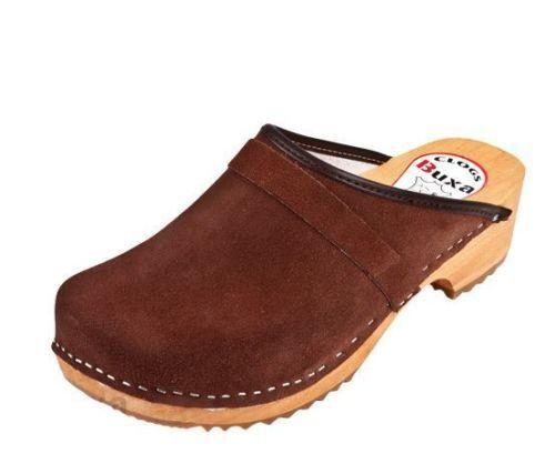 Legno intasa Coloreeee Marroneee pelle pelle Svedese stile.US scarpe  Dimensione (uomini)  marchi di stilisti economici