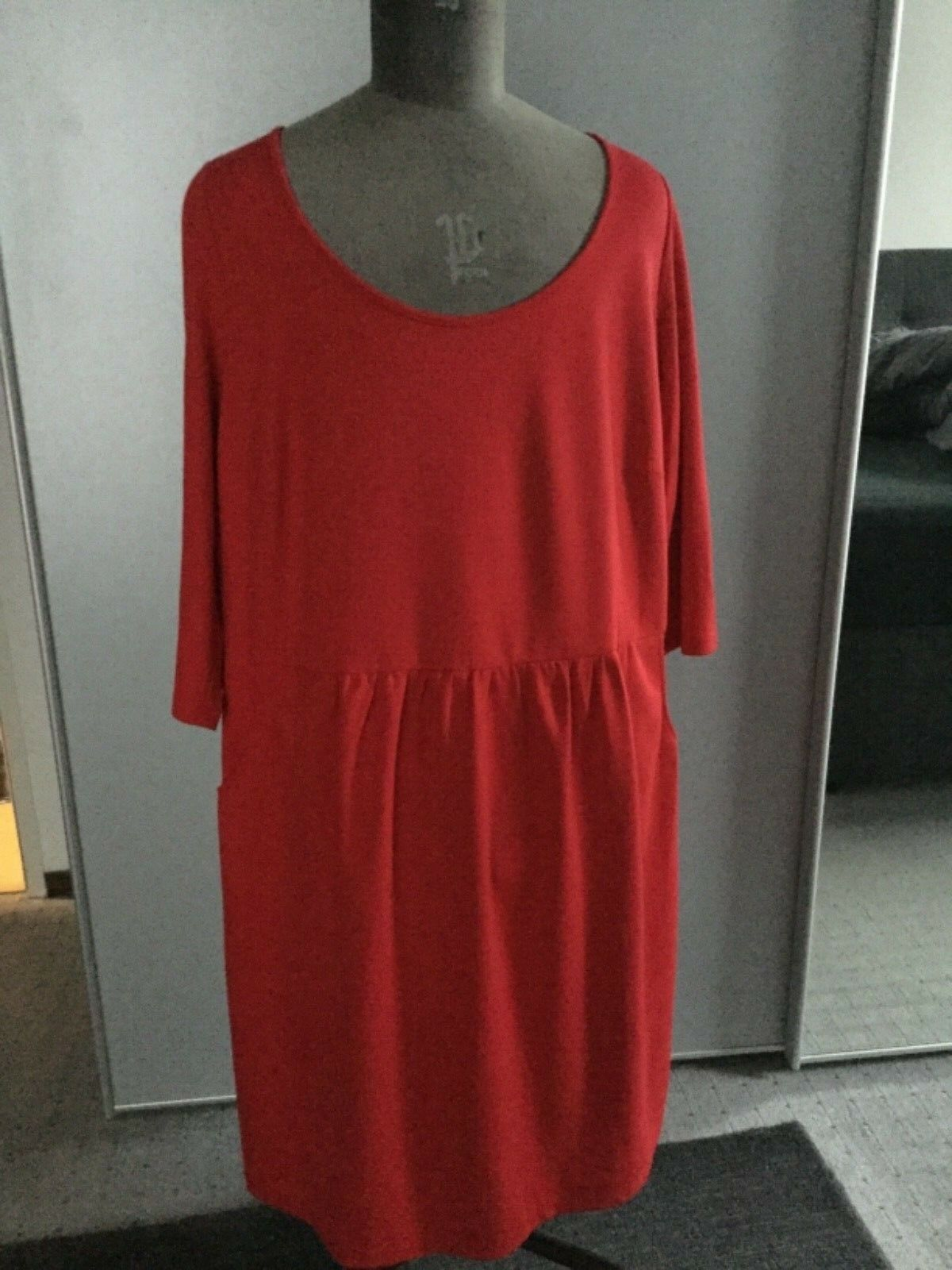 Kleid rot v. Heine by Guido Maria Kretschmer neu Gr. 50 top