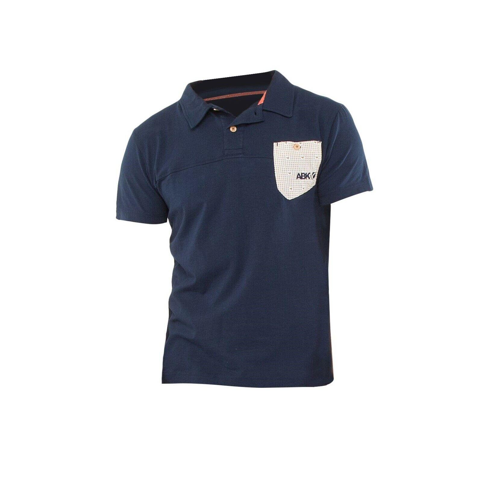 ABK Typica Polo T-Shirt Sie  Weiches Herren T-Shirt  dark marine