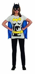 0ee2c5857 Image is loading Female-Superhero-T-Shirt-Costume-Adult-Wonder-Woman-