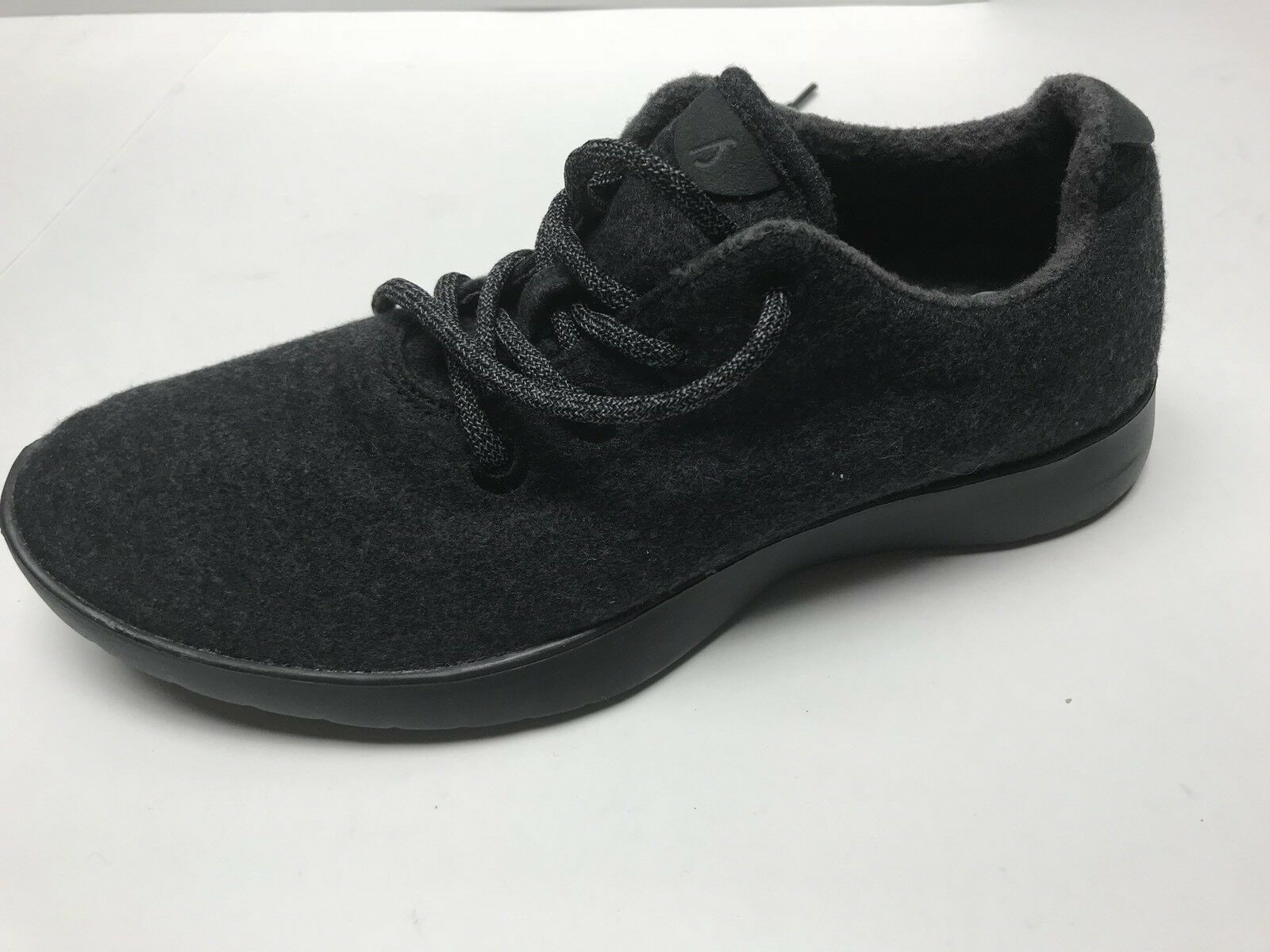 Allbirds Mens Size 10 Wool Runners Natural Black Gray Sneakers Casual Shoes NEW