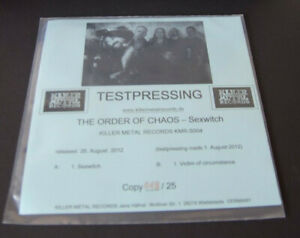 The-Order-of-Chaos-sexwitch-7-034-BLACK-VINYL-LTD-NEW-MINT-TEST-PRESSING