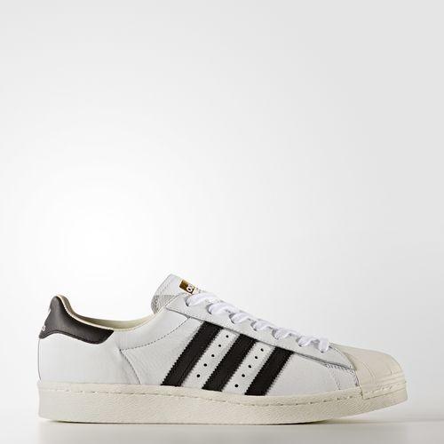 Herren Adidas Superstar weiß Schwarz BB0188 Größe UK 7.5_9_9.5