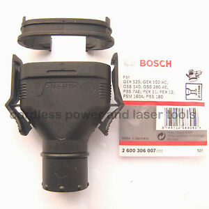 Bosch-Dust-Extraction-Oval-Port-Adapter-GEX-GSS-PEX-PSM-PSS-Sander-2600306007