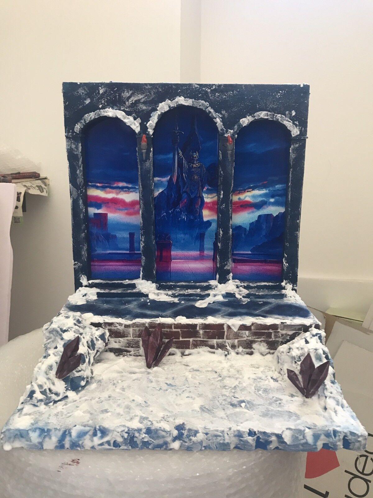 Diorama Decoration Scene Myth Cloth Saint Seiya Entrata Di Asgard 2.0