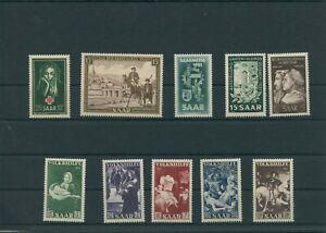Germany-Saar-Saarland-vintage-yearset-Yearset-1951-Mint-MNH-complete-Complete