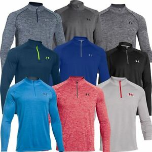 Under armour ua mens novelty tech 1 4 zip long sleeve top for Under armor business shirts
