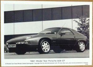 PORSCHE-928-GT-PRESS-PHOTOGRAPH-CIRCA-1991-BLACK-amp-WHITE